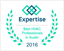 best hvac professionals austin expertise award