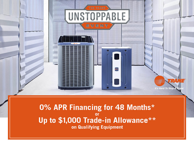 Trane Special Offers & Rebates | Green Leaf AC & Heating