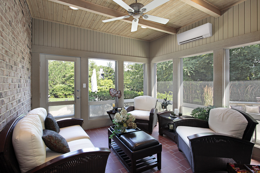 sunroom mini split air conditioner