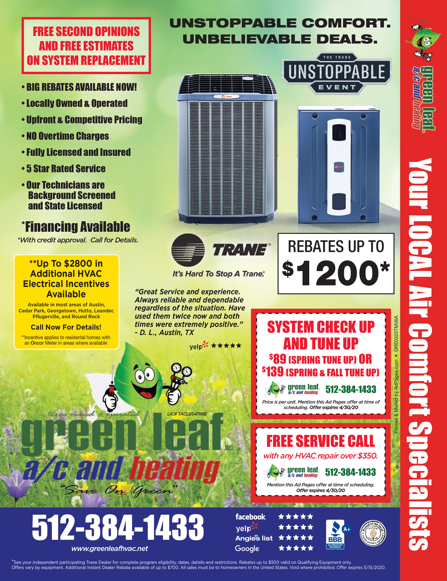 allergy season hvac rebates