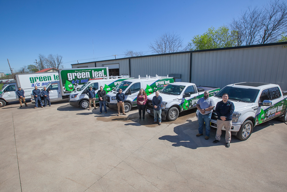 green leaf staff fleet