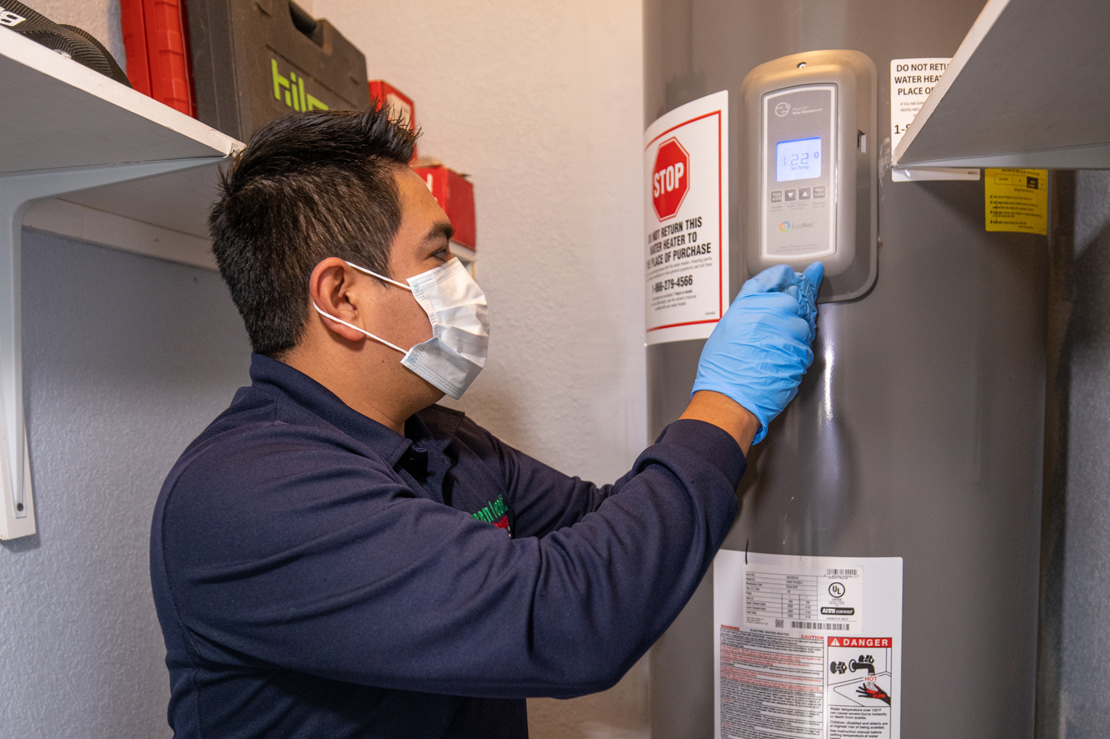 plumbing service repair water heater