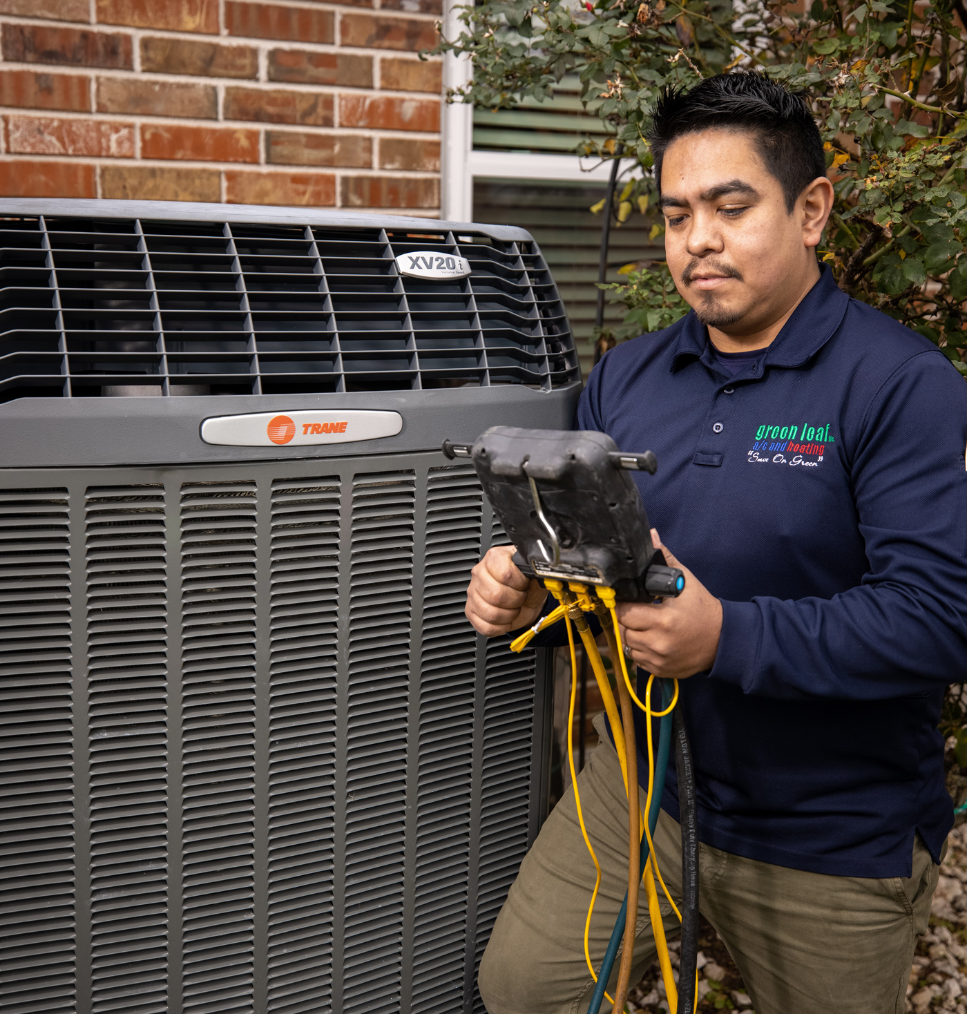 residential air conditioning testing after new installation